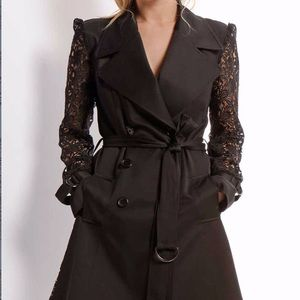 Trench Coat in A Rich Lace